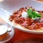 リチェッタ - フレッシュトマトとモッツァレーラ(チーズ付いてます)