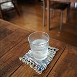 しまうまカフェ - お水は何度もついでくれました。