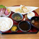 魚神 - 料理写真:きみか御膳