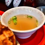 台北餃子次次 - 【ランチセット E@税込1,080円】スープ