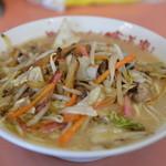 佐賀ラーメン 喰道楽 - 野菜ラーメン