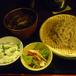 Suigen - 鴨つけ蕎麦定食(ランチ)(980円)