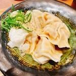 149724386 - 煮込み飯丼・水餃子セット