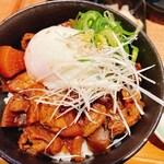 149724387 - 煮込み飯丼・水餃子セット