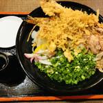 田舎屋 - 料理写真:ぶっかけそば(冷)1100円