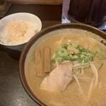 炙り味噌らーめん 麺匠 真武咲弥  -