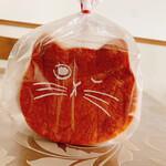 ねこねこ食パン - 料理写真: