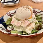 藁焼 みかん - ○ポテサラ様(600円)