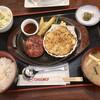 ウェリントン - 料理写真:ハンバーグとシーフードグラタンのセット