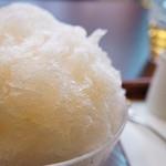 三日月氷菓店 - 生りんご(680円)♥(2012/9)