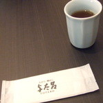 14974668 - お絞りとお茶