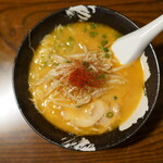 麺や 玄 - 辛味噌らー麺(¥950税込み)