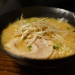 麺や 玄 - 味噌らー麺(¥800税込み)