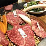 Kadoushijukuseiyakinikutokurafutobiru - 熟成肉 部位の説明もあり