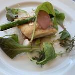 149748178 - イズミ鯛とトマトのソテー、桜エビネグレットソース