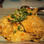 Sawadee Lemongrass Grill - プーニムパットポンカリー(ソフトシェルクラブのカレー炒め)