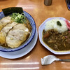 友愛亭 - 料理写真:浪速のジョー  チャーシュー2枚 トッピング、李くんのカレー