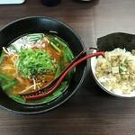 きのした屋。チュウカヤ - 台湾ラーメン&ミニチャーシュー丼