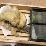 鮨・酒・肴 杉玉 - 天ぷら3種盛り合わせ
