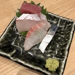 鮨・酒・肴 杉玉 - お造り4種盛り合わせ