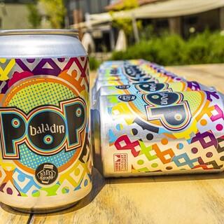 都内で限定店舗のみのクラフトビール・バラデンPOP缶あり!