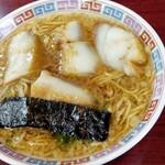 大橋中華そば - 濃口脂身拉麺