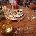 ビストロolympic - 白ワインデキャンタ