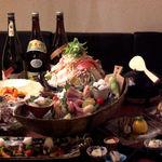 彩櫻 - 料理写真:おまかせの宴会コースはお一人様3500円から。その日の仕入れにより内容は変わります。