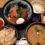和食や - 豚角煮定食 1000円