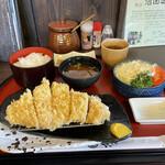 金重 - 超熟ロースカツ定食