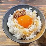 クックら - 限定の『コトブキ園の「長壽卵」』使用「卵かけご飯」