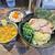 クックら - 「つけ麺」¥850(カレー変更)と限定の「卵かけご飯」¥200