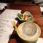創作和食 厨 - お酒。氷は嬉しい。