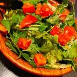 149799722 - パクチー&トマトのサラダ