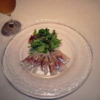 ビストロ ボン・グー・コクブ - アジのカルパッチョ(鮮魚のカルパッチョより)