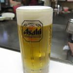 お好み焼ふじ - ドリンク写真:生ビール