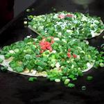 お好み焼ふじ - 野菜焼(うす焼)②