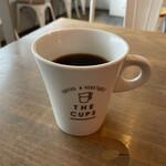 コーヒー&ジェラート ザ カップス - プアオーバーR(コロンビア+ハリオ)(税込 540円)評価=◯