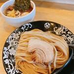 麺屋 たけ井 - 味玉つけ麺(並)