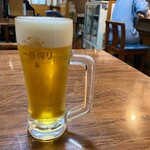 あらが食堂 - とりあえずの生ビール
