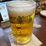焼肉ハウス草原 - ドリンク写真:大ジョッキ¥1.100