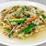 暖龍 - 料理写真:味噌野菜あんかけ焼きそば・・・840円 札幌あんかけ焼きそば社長賞に選ばれました。