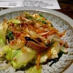 栄町ボトルネック - 野菜たっぷり!豆腐チャンプルー