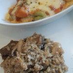 Ichimiichie - 野菜のグラタンとポルチーニ茸のリゾット