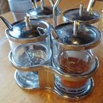 マンゴツリーカフェ+バー - 薬味セット