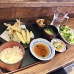 蔵元居酒屋 清龍 - 天ぷら定食