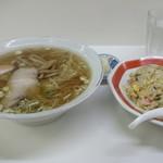 きがる食堂 - ランチ:ラーメンセット550円