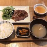 149831454 - 豚肩ロースの生姜焼き定食 1,200円(税込)