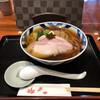 食煅 もみじ - 料理写真:中華そば大盛り、800円+100円。麺量は、並150グラム、大盛り200グラム。