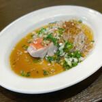中国料理 丹甫 - 金目鯛と春雨の大蒜蒸し